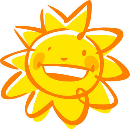 Cute Smiling Sun   Clipart Panda   Free Clipart Images