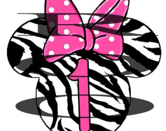 Diy Zebra Minnie Mouse Printable Iron On Transfer