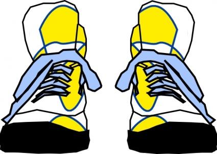 Tennis Shoe Imprint Clipart - Clipart Kid