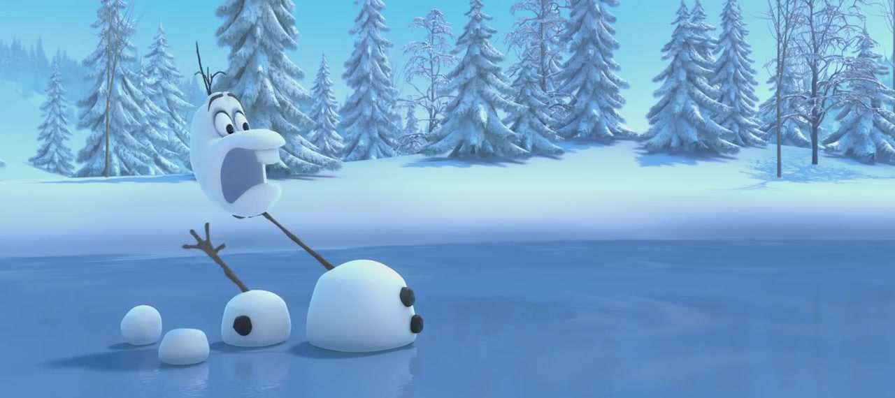 Frozen Teaser Trailer Screencaps   Olaf And Sven Photo  36145462