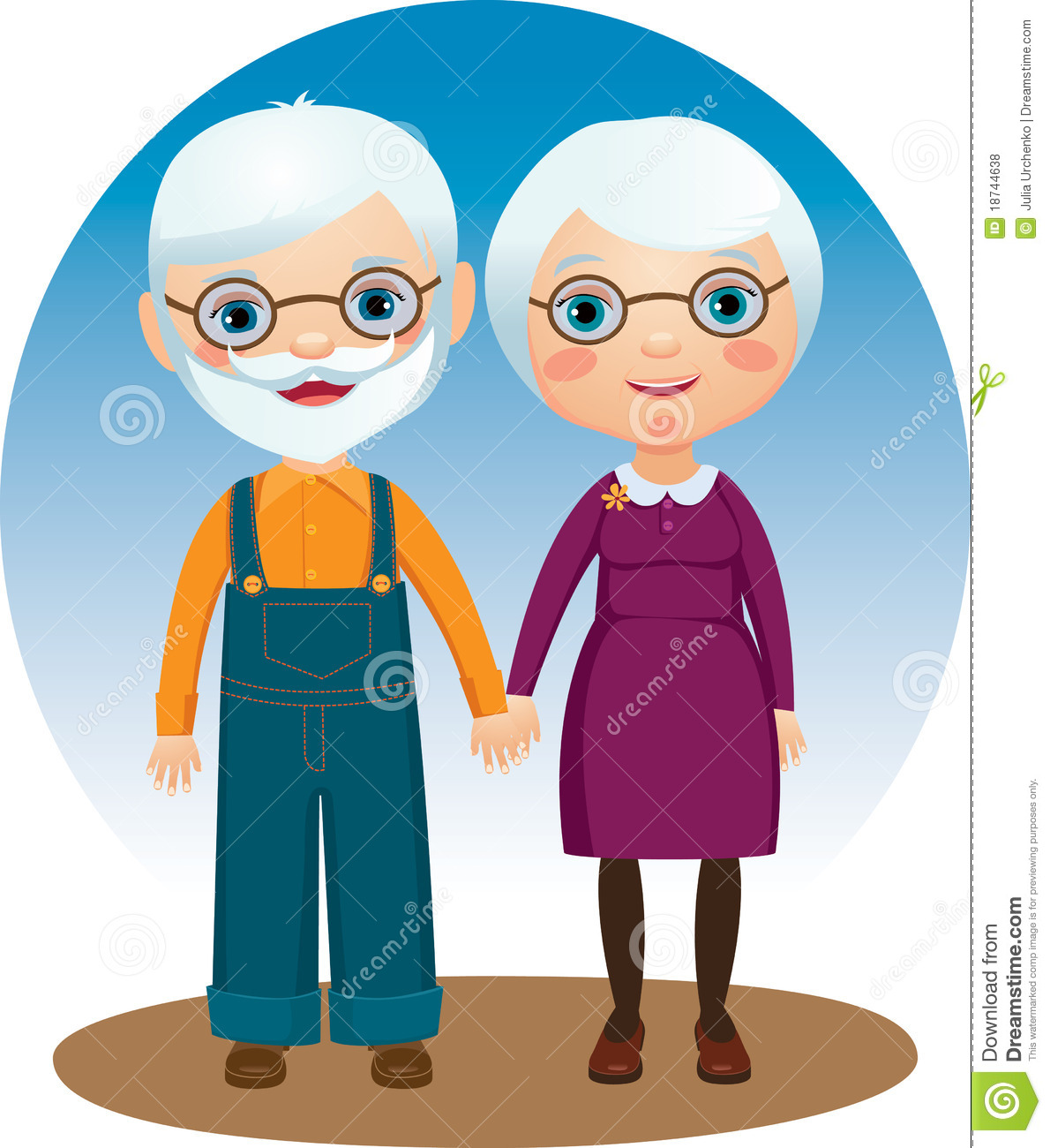 Grandparents Royalty Free Stock Photos   Image  18744638