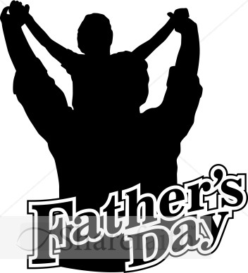 Happy Fathers Day Clipart Black And White Have A Great Father  S