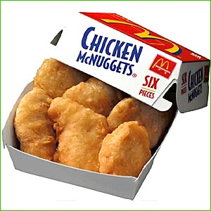 Mcdonald S Mcnuggets Made With  Silly Putty  Chemical   The
