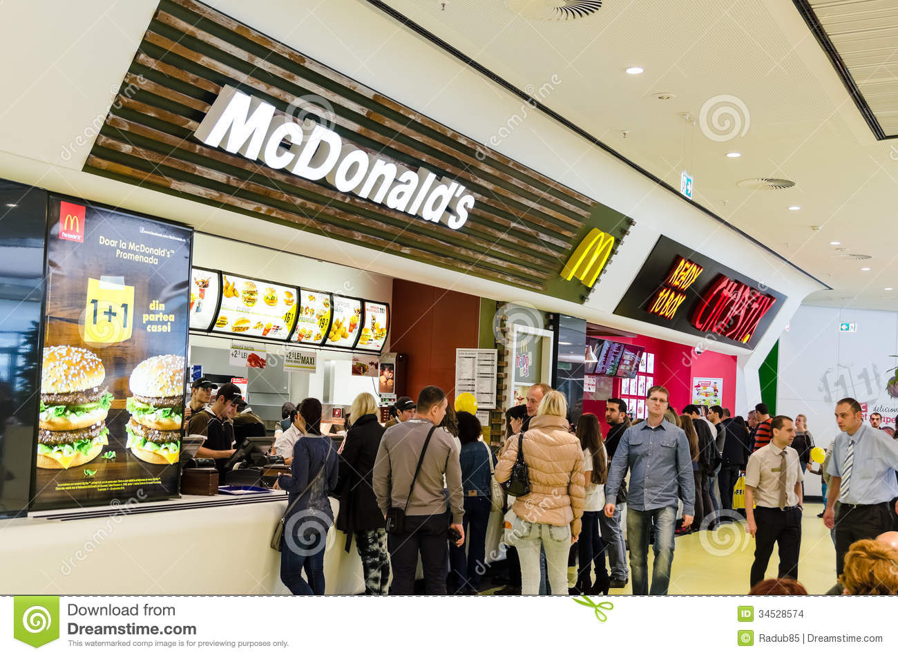 Mcdonalds Food Clipart People Buying Fast Food