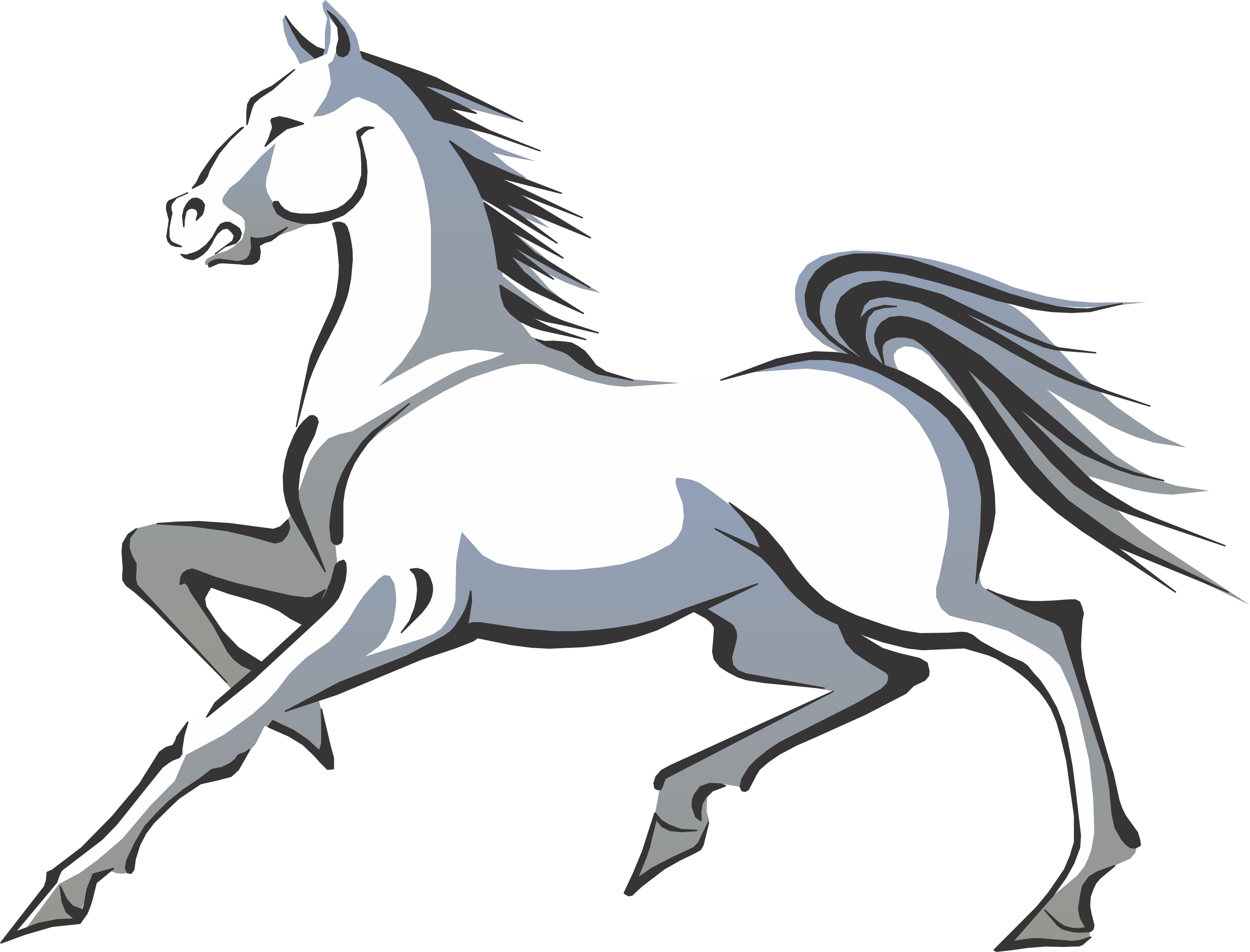 Photo Of Horse Cartoon Free Cliparts That You Can Download To You