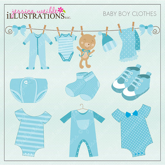 baby clothes clipart free - photo #48