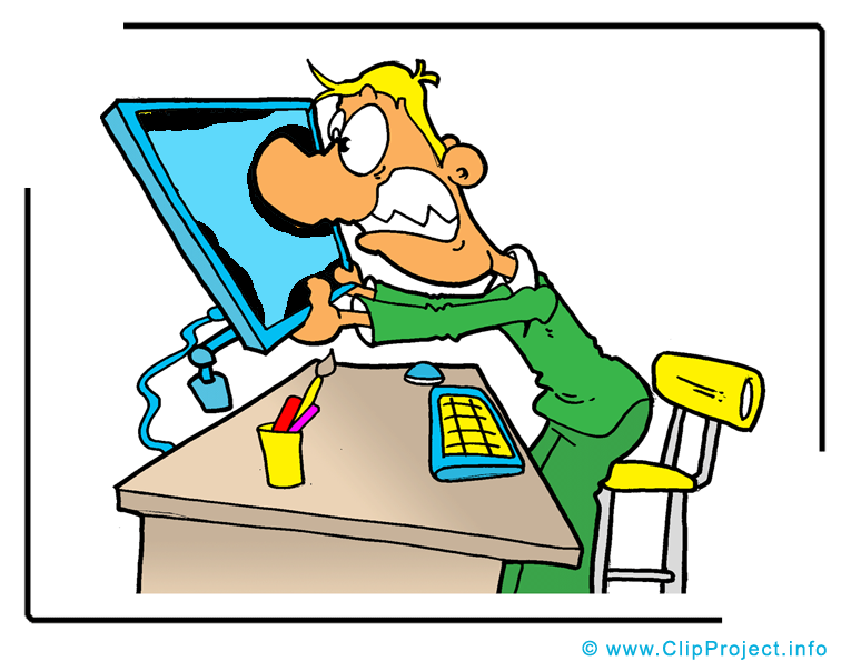Clip Art Title  Funny Office Manager Clipart Image   Business Clipart