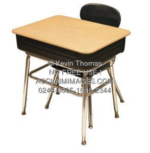 Clipart School Table School Desk And Chair Clipart