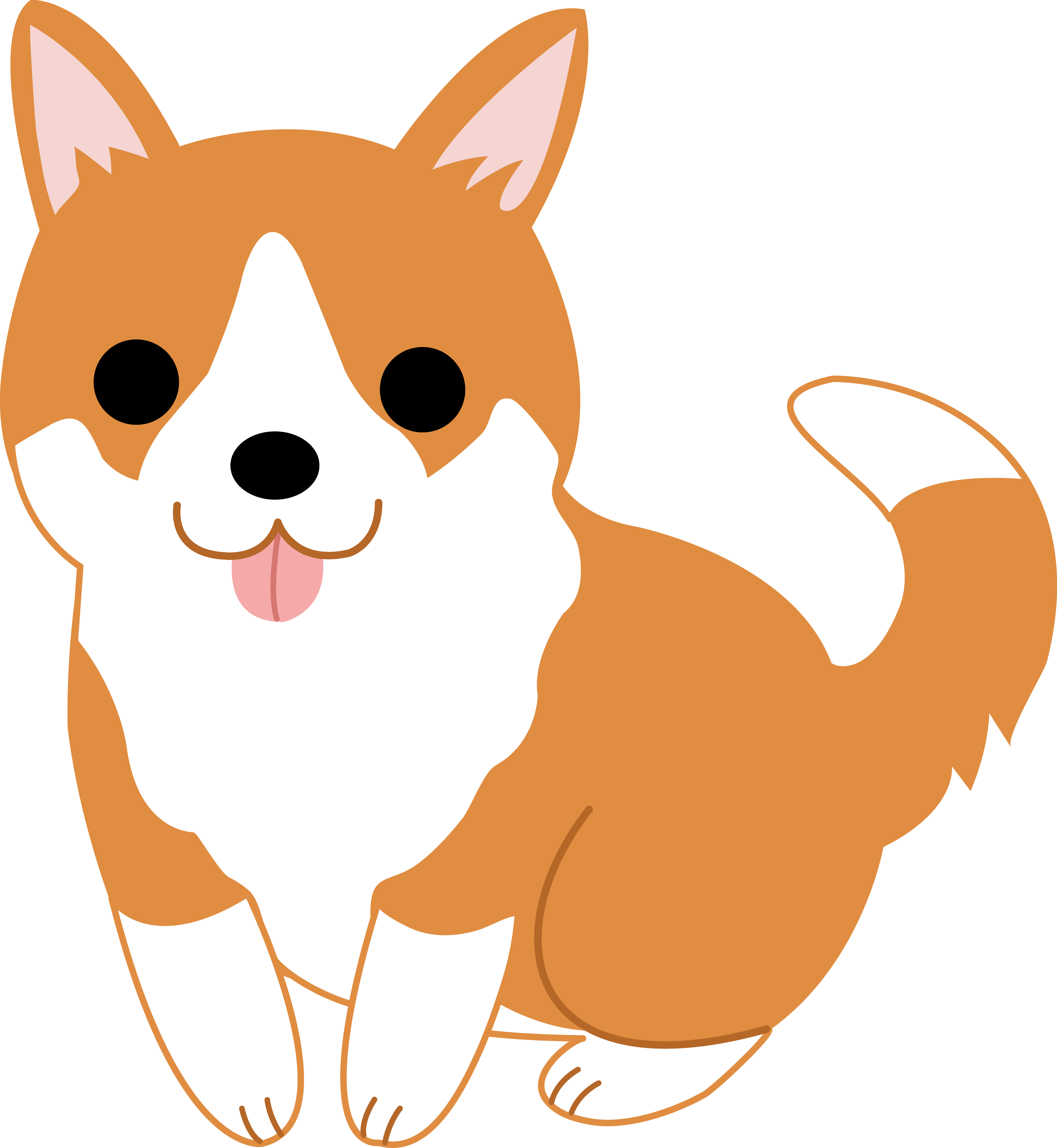 Cute Dog Clipart   Clipart Panda   Free Clipart Images