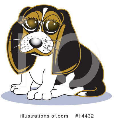 Dog Clipart  14432 By Andy Nortnik   Royalty Free  Rf  Stock