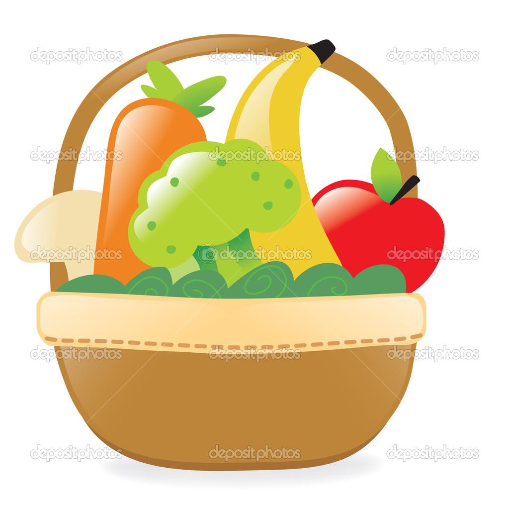 Fruit Basket Clipart