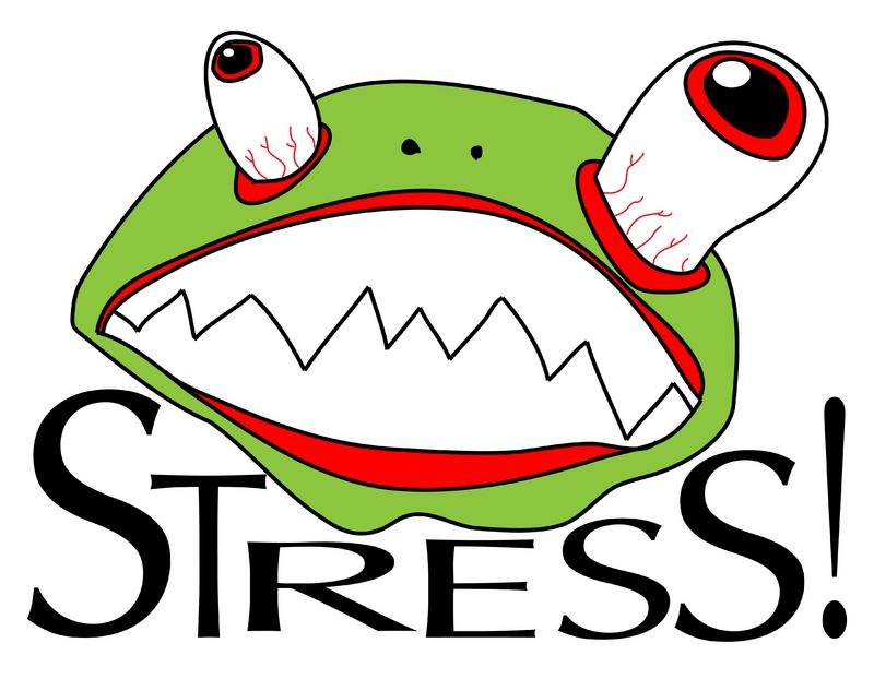 Funny Stressful Clipart