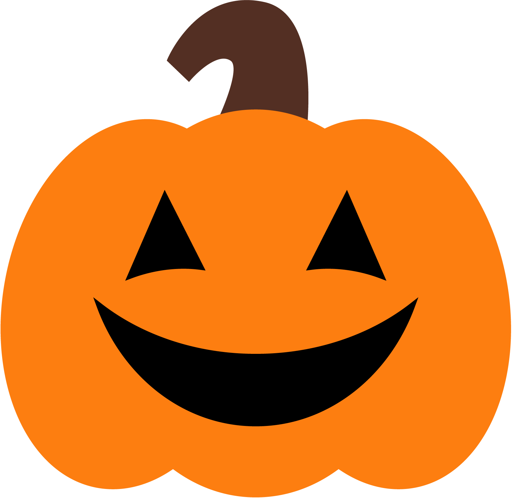 Cute Pumpkin Clipart - Clipart Kid