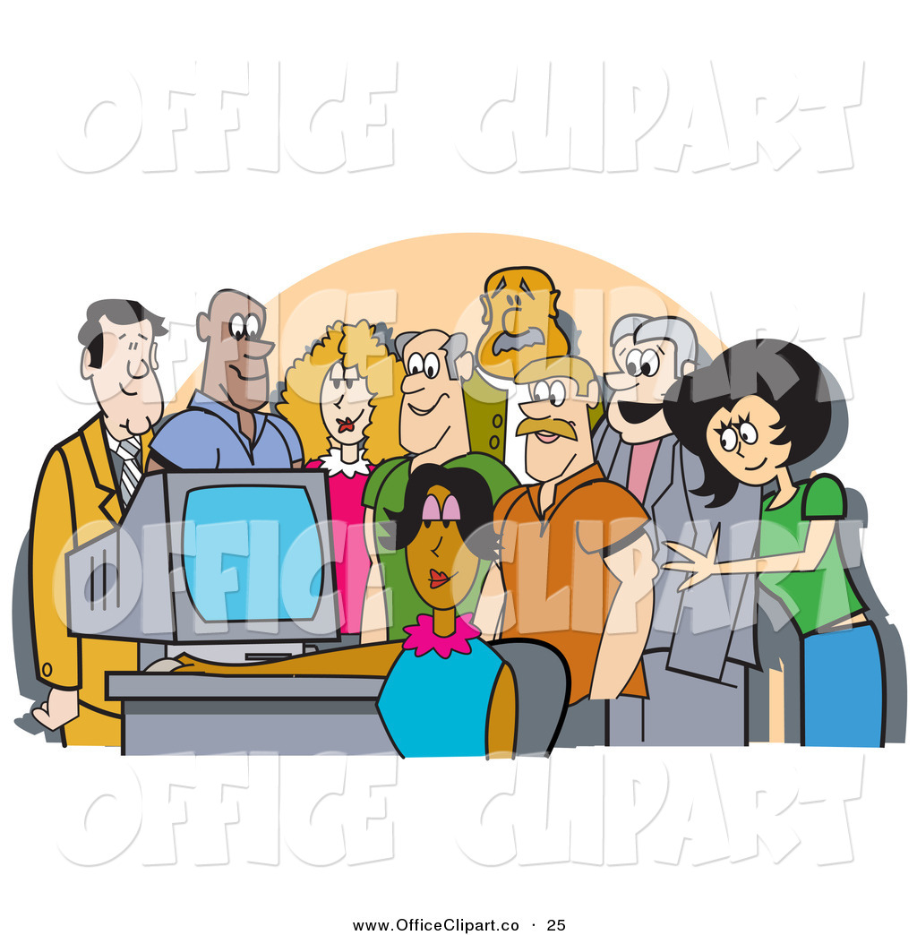 Funny office clip art cliparts for Office clipart