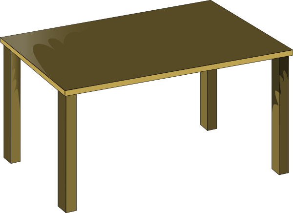 School Table Clipart Table Hi Png