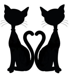 Sitting Black Cat Silhouette Free Cliparts That You Can Download To