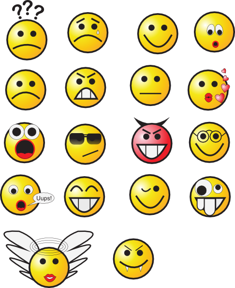 Smiley Faces 3 Clip Art At Clker Com   Vector Clip Art Online Royalty