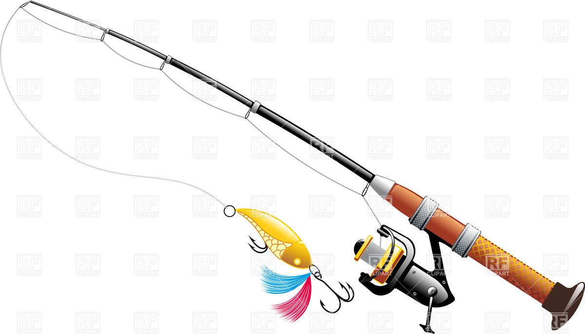 Spinning With Spoon Bait   Fishing Rod With Reel 34804 Download