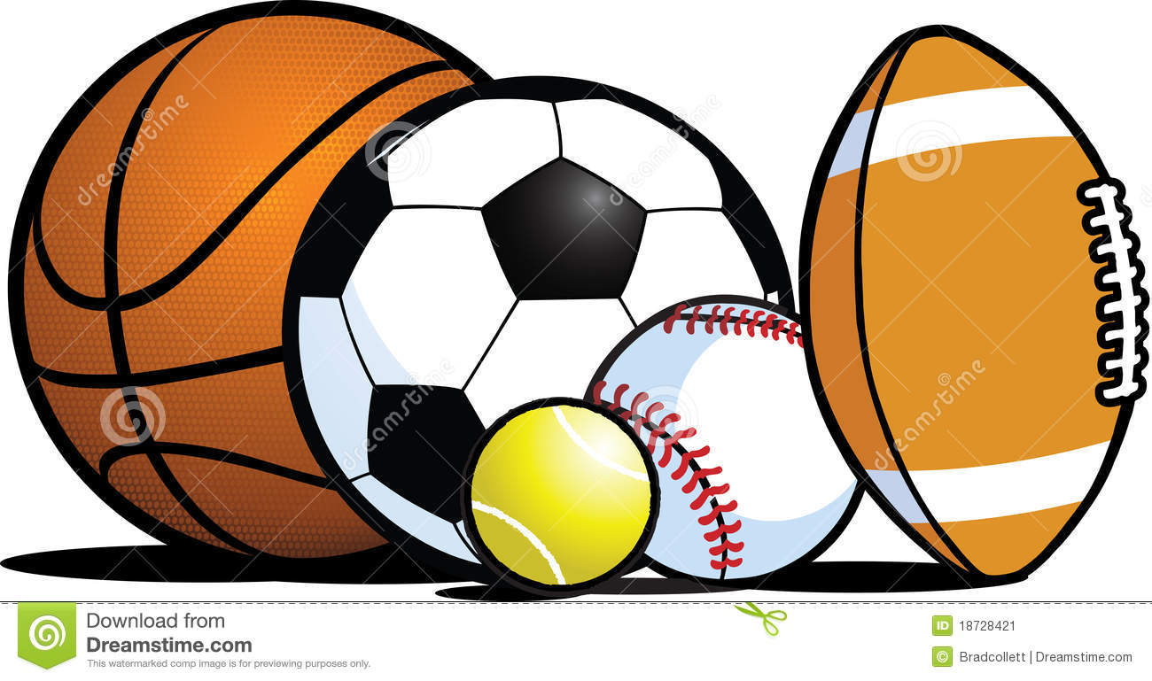 Sports Balls Clipart Borders   Clipart Panda   Free Clipart Images