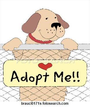 Stock Illustration Of Pet Adoption Braucl0171s   Search Clip Art