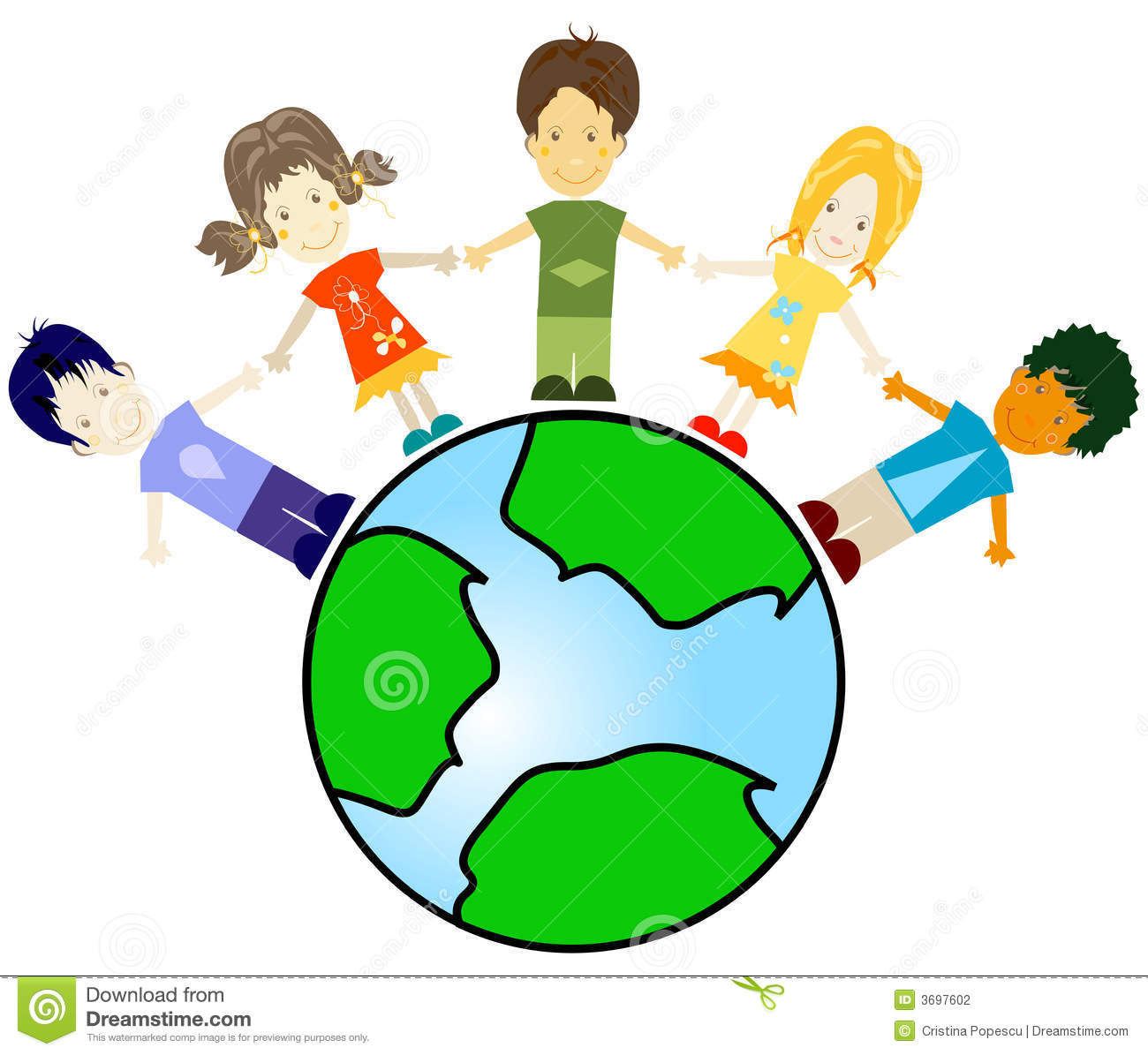 Stock Photography  Kids And Planet Earth  Image  3697602