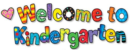 Welcome To Kindergarten Clipart   Clipart Panda   Free Clipart Images