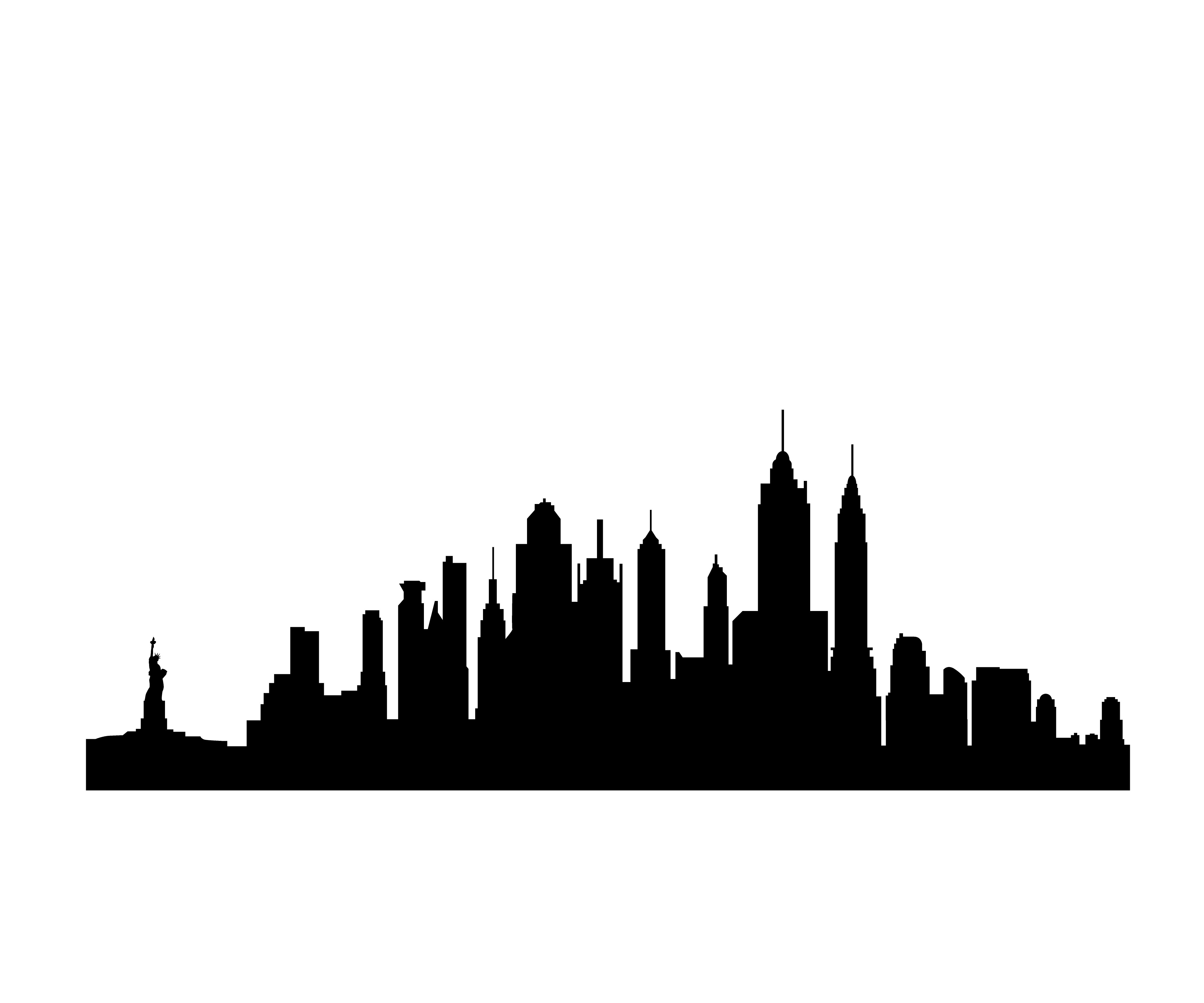 13 Free Clip Art New York City Skyline Silhouette   Free Cliparts That