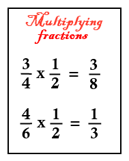 Fifth grade math worksheets multiplying fractions