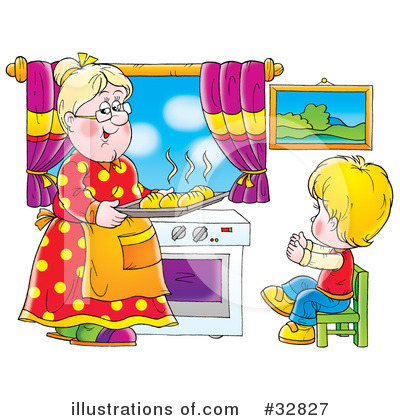 Grandma Clipart  32827   Illustration By Alex Bannykh