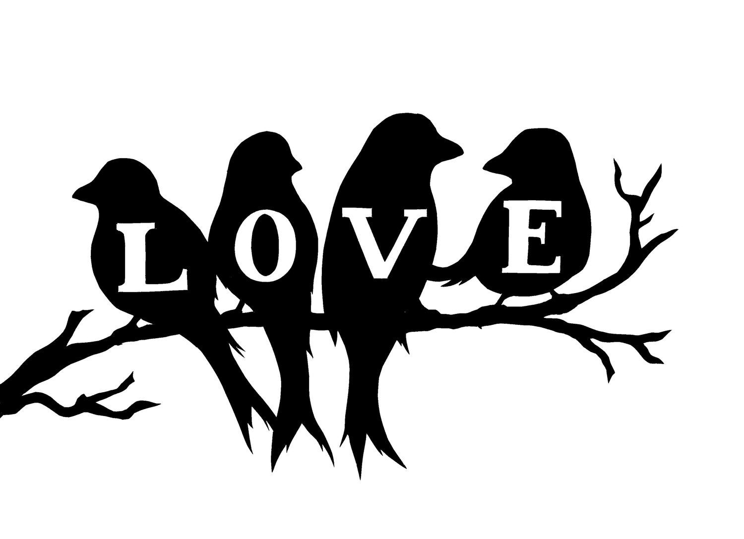 Love Bird Silhouette Pictures