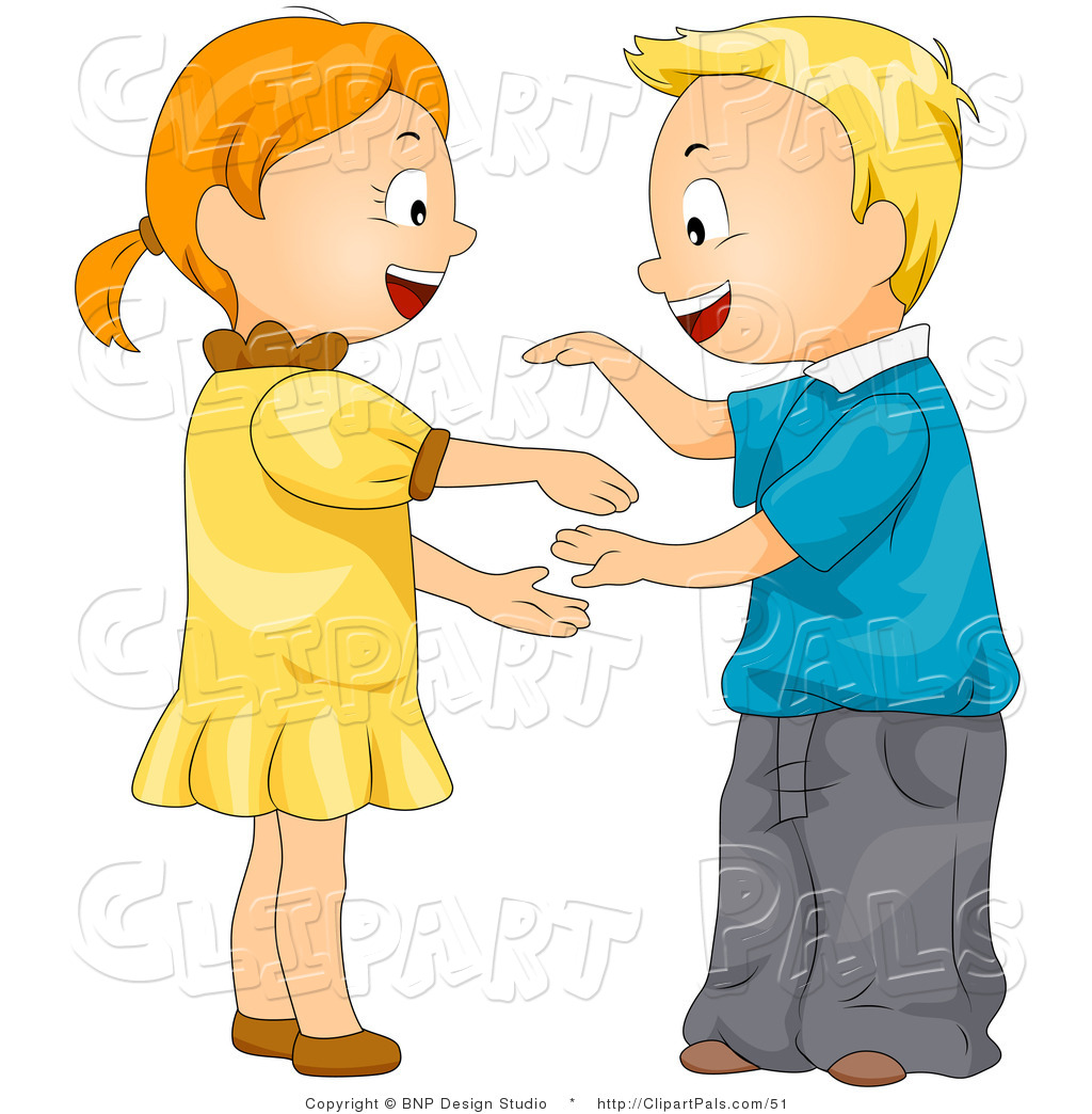 Pal Clipart Of A Kids Playing A Hand Game By Bnp Design Studio    51