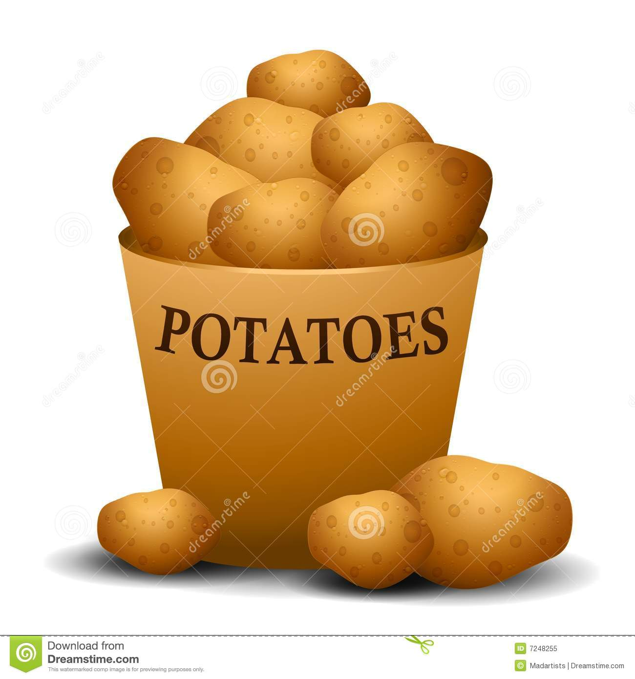 Baked Potato People Clipart - Clipart Suggest