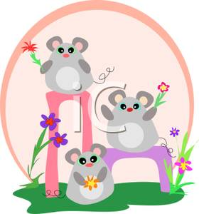 Showing Gallery For Group Of Mice Clipart
