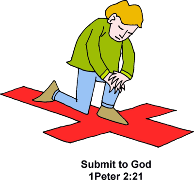 Submit To God   1 Peter Clip Art   Christart Com