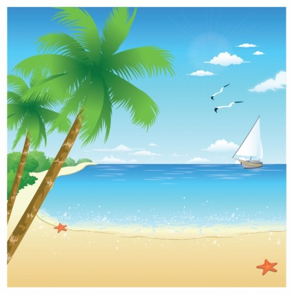 Tropical Beach Party Clipart Clipart Suggest