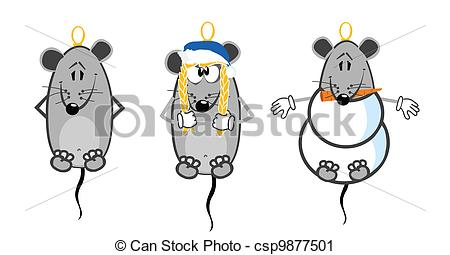 Vector Clip Art Of Mice Group Csp9877501   Search Clipart