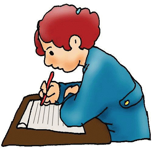 Taking Tests Animated Clipart - Clipart Kid