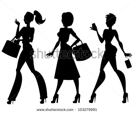 African American Girl Silhouette Stock Photos Illustrations And