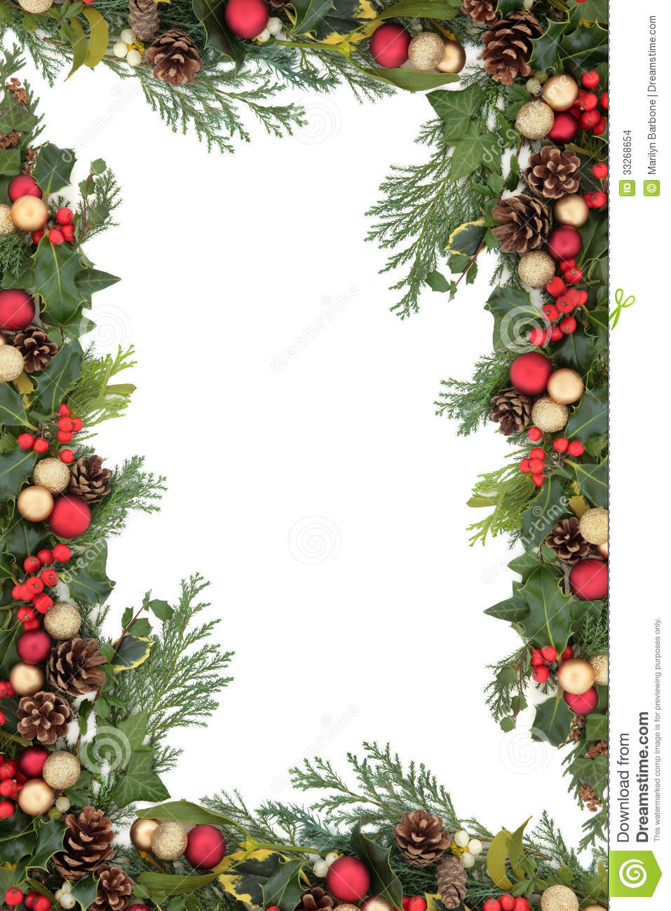 Christmas Decorations Borders