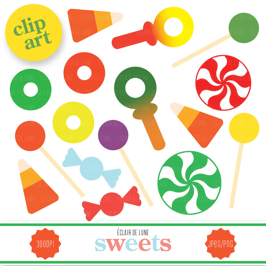 Clipart Candy Vector 152 Candy Clip Art Lollipop Historic Shop And