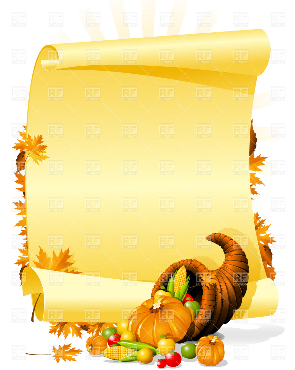 Empty Cornucopia Outline Images   Pictures   Becuo