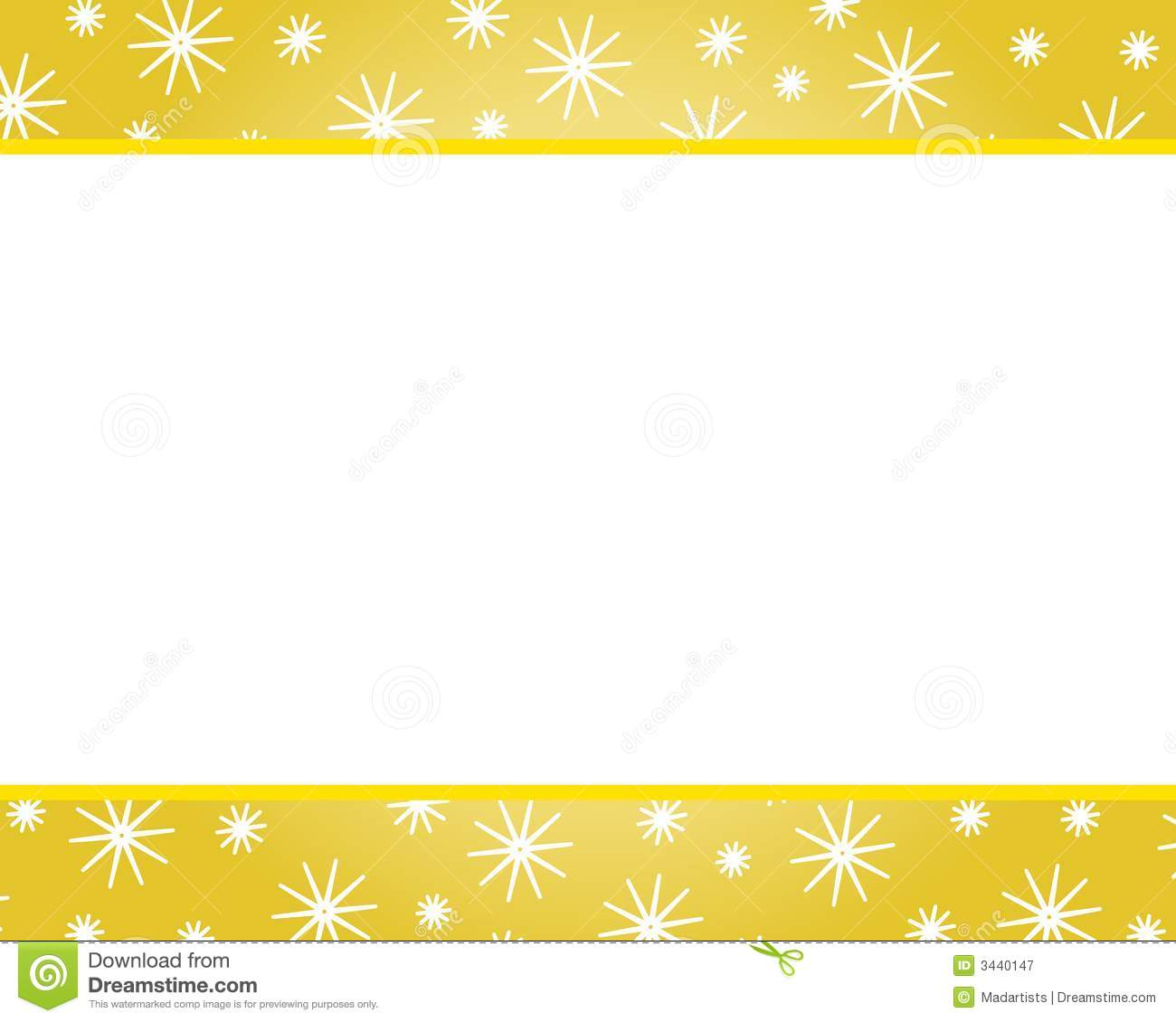 Gold Christmas Border Clipart - Clipart Suggest
