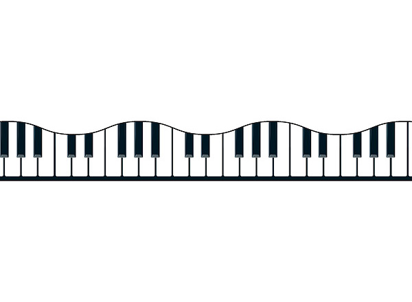 Piano Notes Clipart Clipart Suggest
