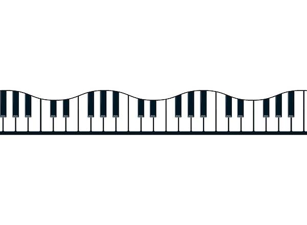 Musical Keyboard Border