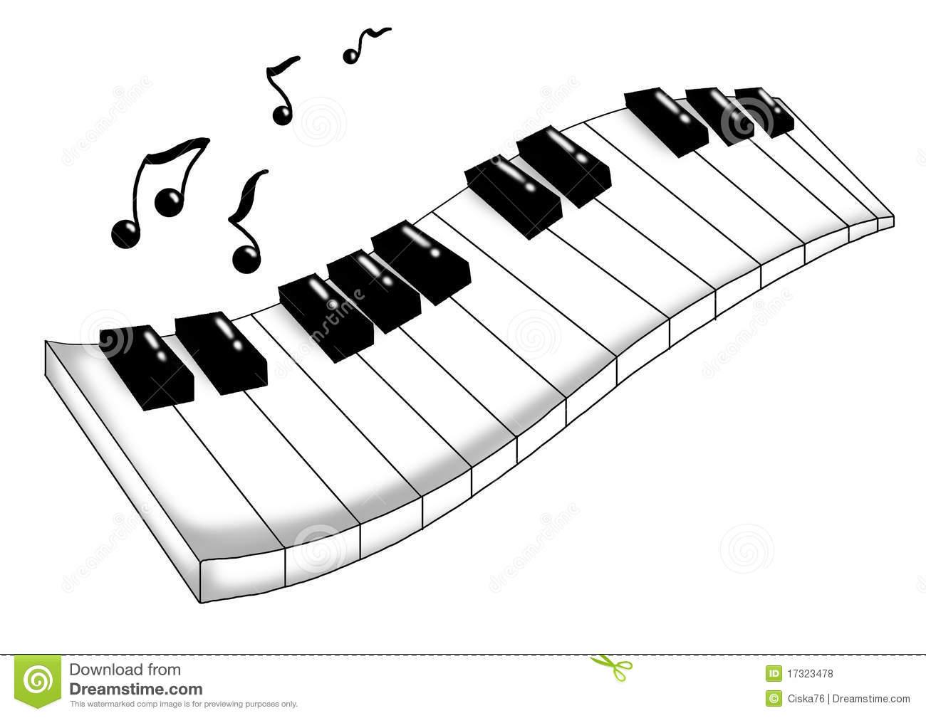 music keyboard clipart