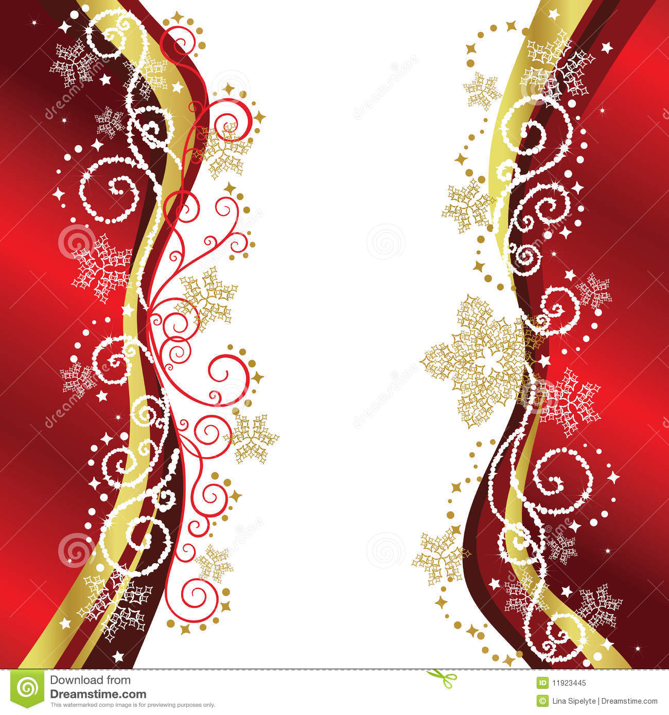 Gold Christmas Borders Clipart - Clipart Suggest