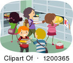 Royalty Free  Rf  Illustrations   Clipart Of Cubbies  1