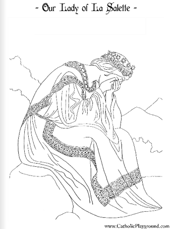 Saint Joseph Of Cupertino Coloring Page  September 18th
