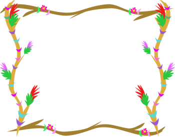 There Is 40 Rustic Branch Border   Free Cliparts All Used For Free