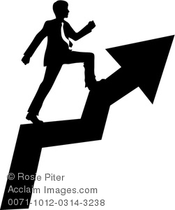 This Clipart Illustration Depicts Clip Art Silhouette Of A Businessman